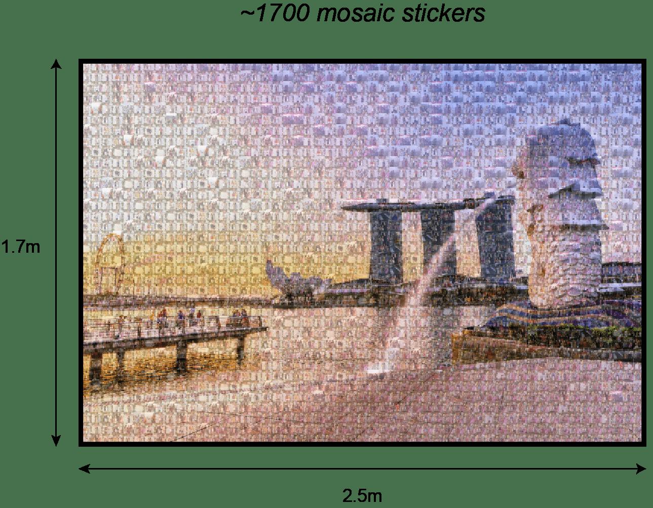 Mosaic Wall Photo Booth Singapore