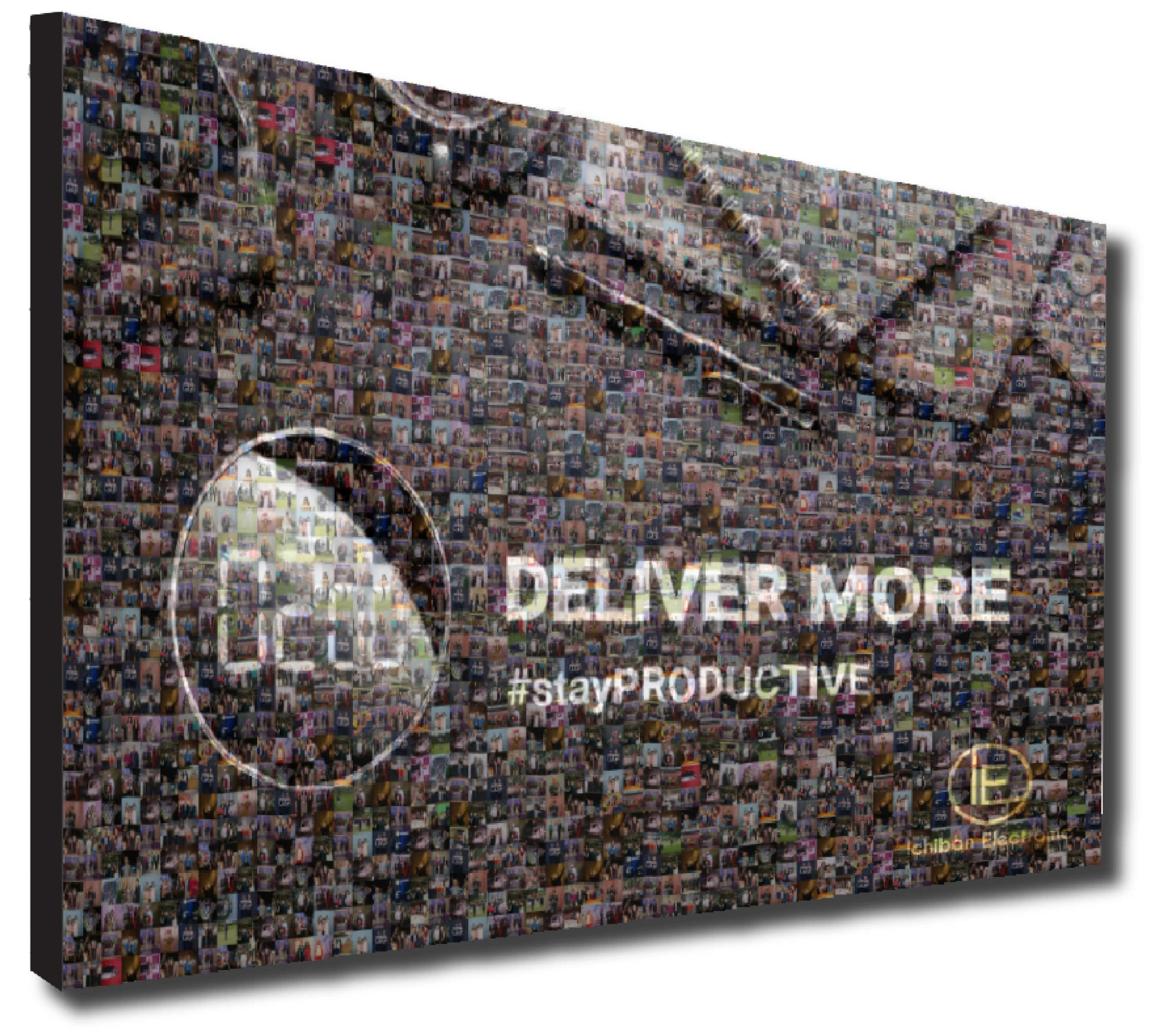 Virtual Mosaic Photo Booth