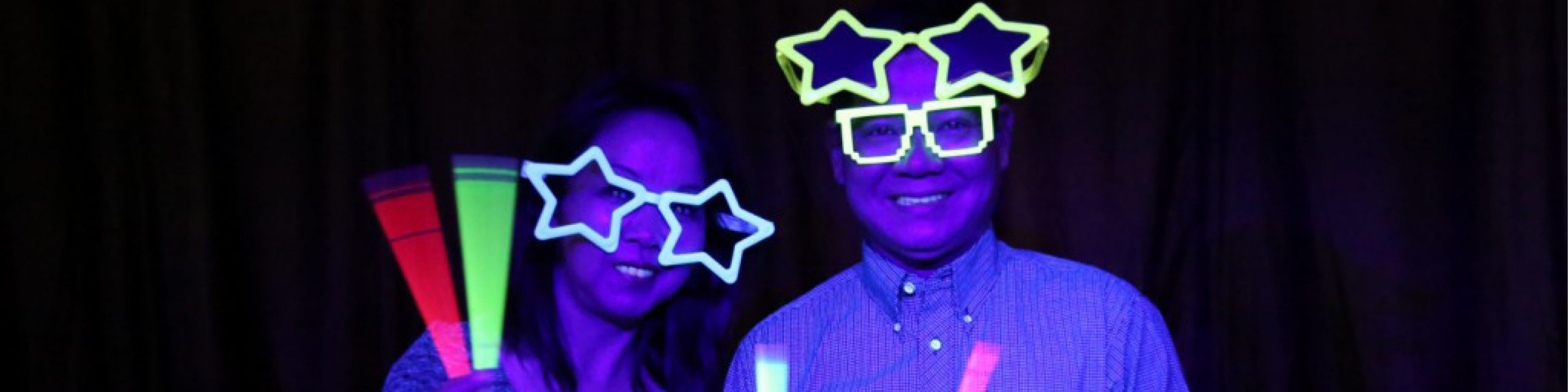 Glow In The Dark Booth