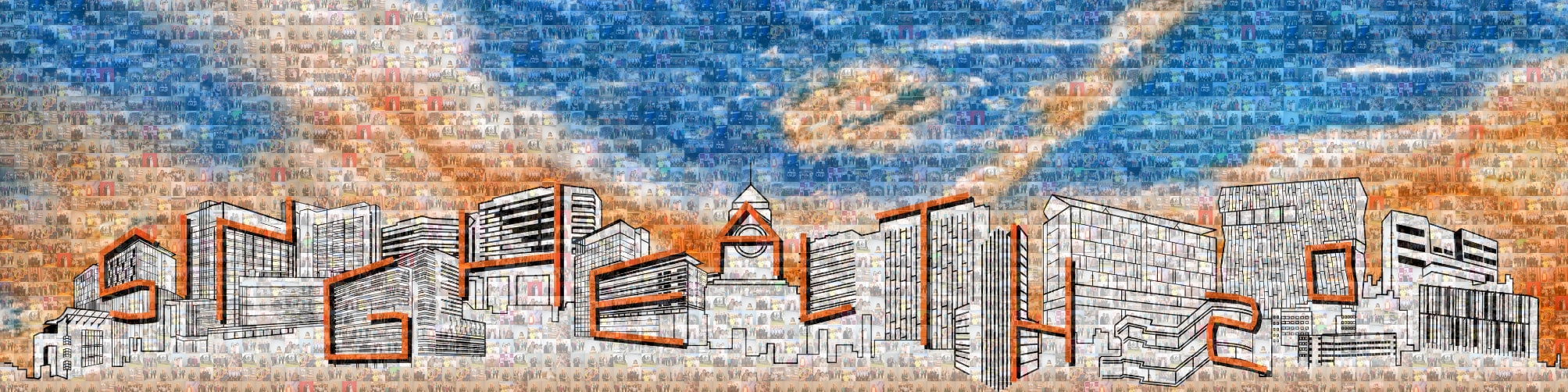 Photo Mosaic Canvas Singapore