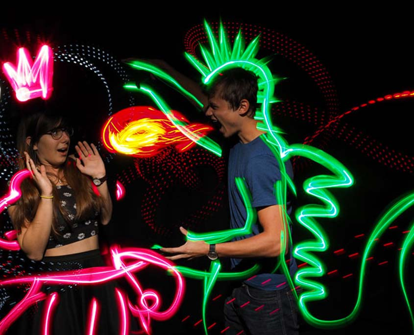 Light Painting Photo Booth Singapore